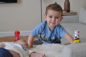 Evan and Josh