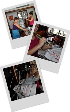 Making the Pinata