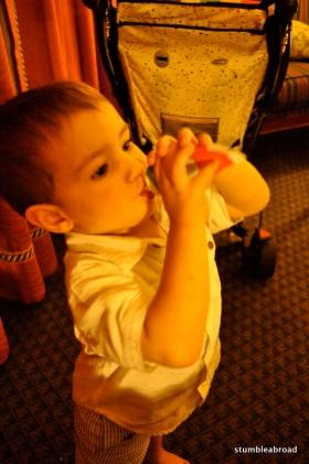 Evan felt like eating toothpaste