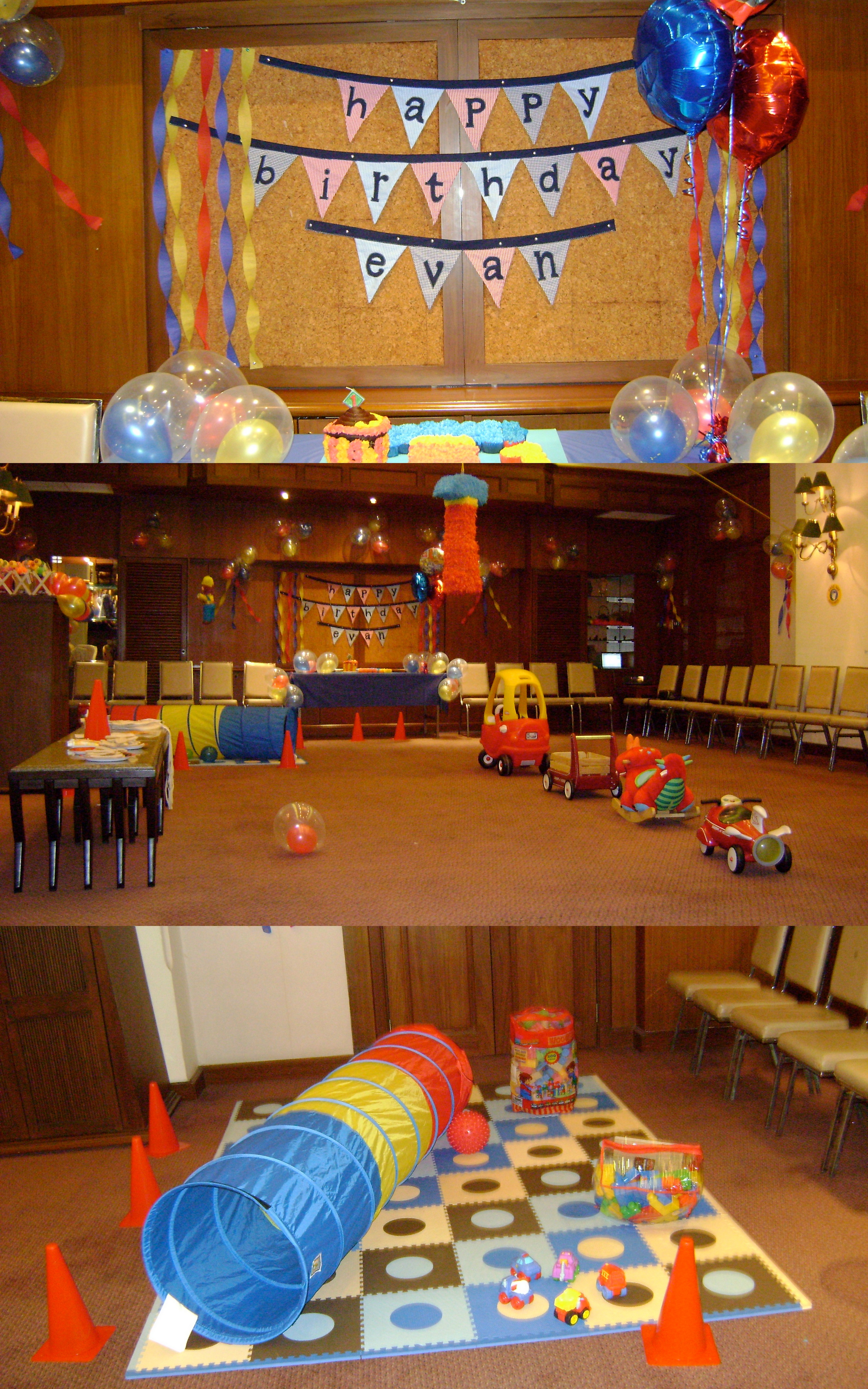 Blast from the Past Evan s 1st Birthday Party Stumble