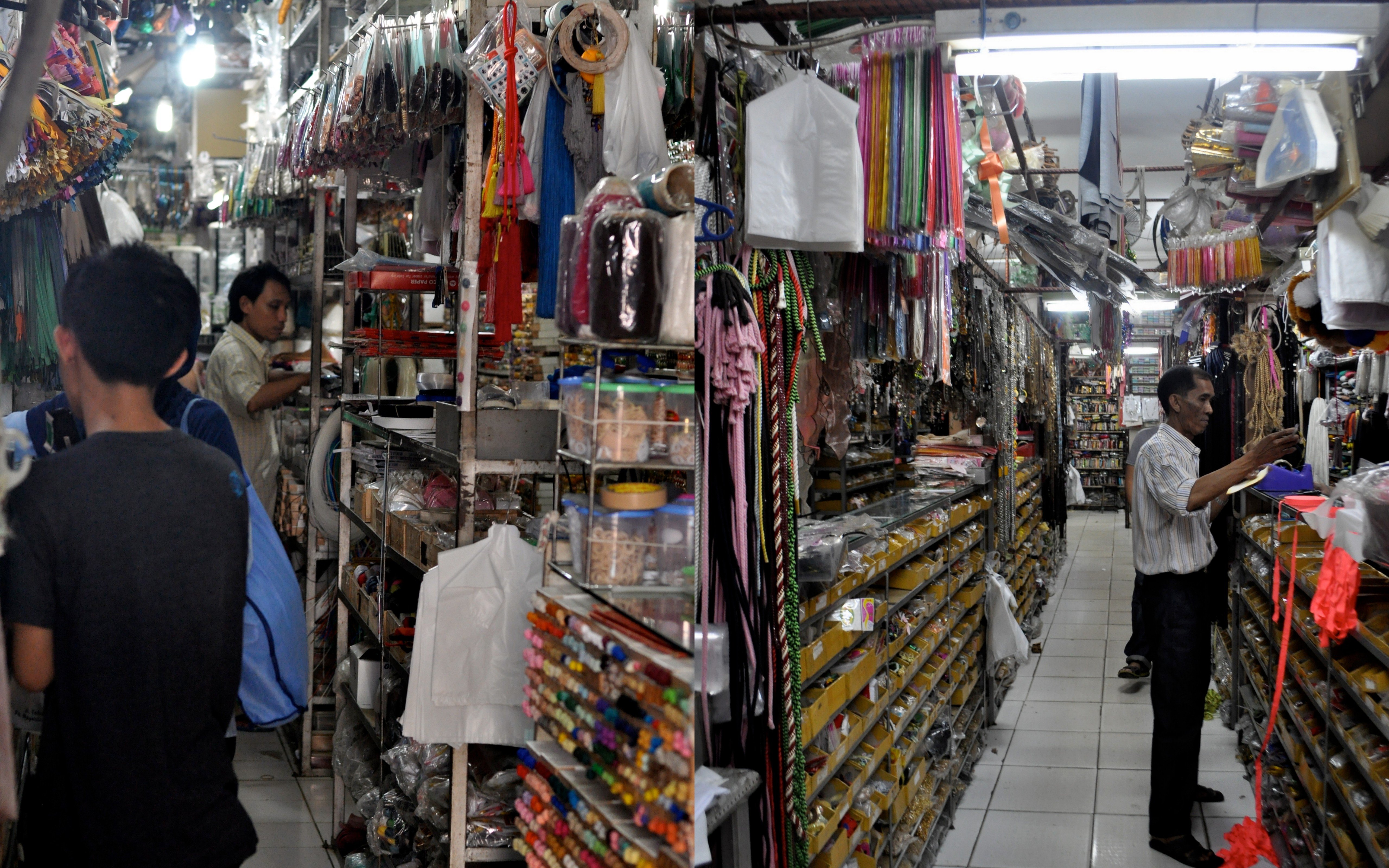JakartaFind Pasar Mayestik Fabric Market  Stumble Abroad