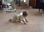 Still crawling backwards...