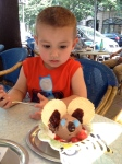 """Mickey Mouse"" ice cream"