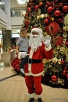 Evan with Santa