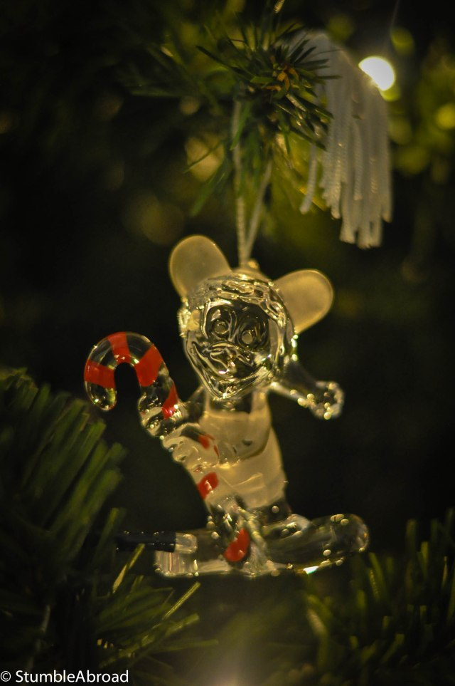 This is the ornament we bought when I was pregnant with Evan and we visited Disney World.