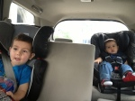 Boys in the car