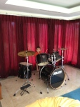 Drums at a friends house