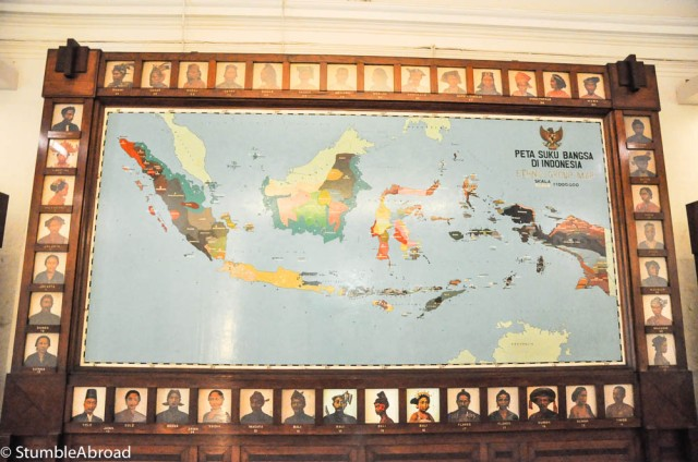 Unity in Diversity... Those are the different ethnic features of all the people in Indonesia
