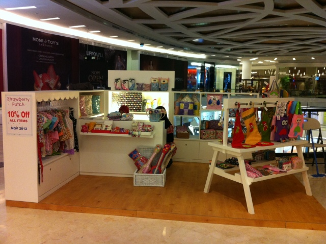 Strawberry Patch in Kemang Lippo Mall