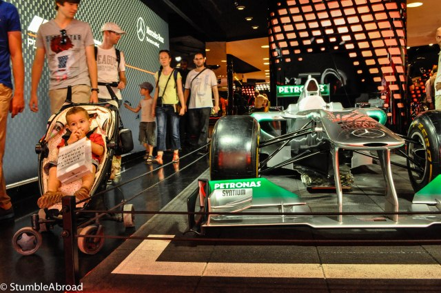 A few weeks before the Singapore Grand Prix