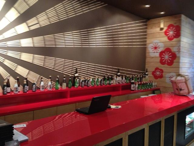 Great Sake selection