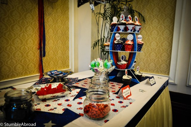 Sweets: Cupcakes and Candy Bar
