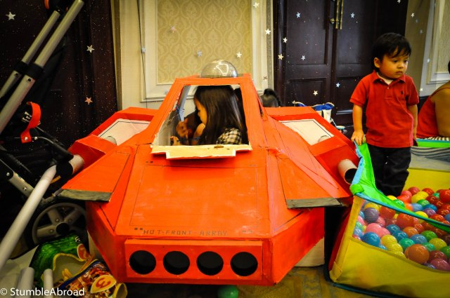 The Spaceship was very popular