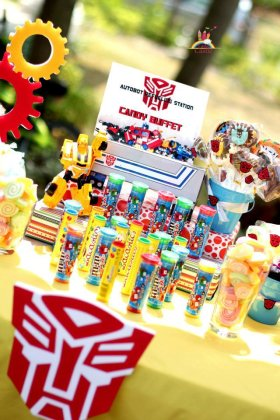 Transformers Candy Bar