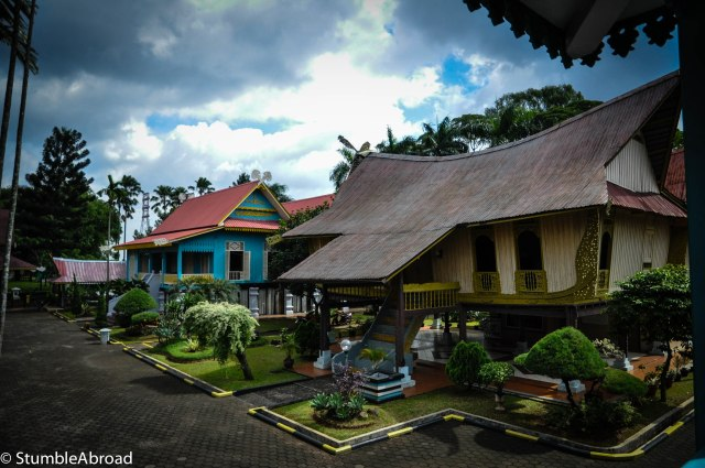This is what a kampung in Bengkulu looks like