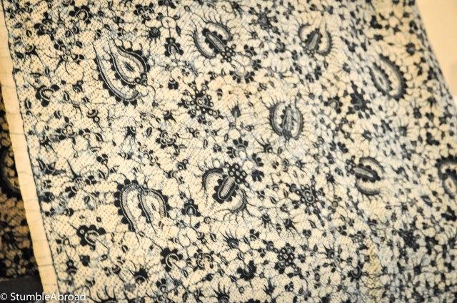 Batik Closeup