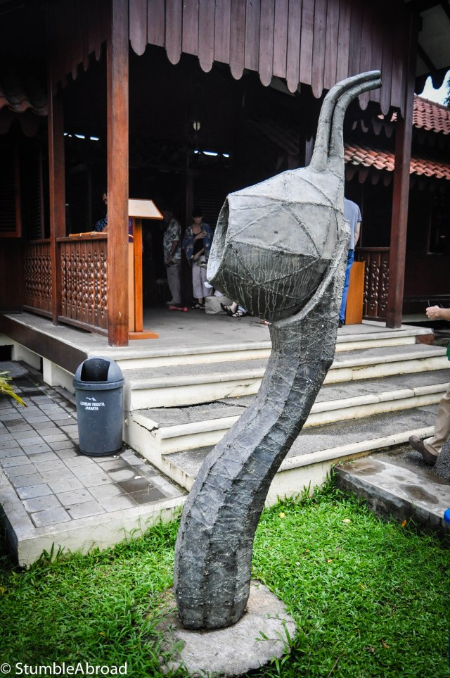 Sculpture of Batik Tjanting