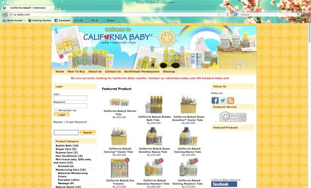 CaliforniaBabyWeb