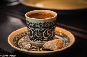 Before the Class I drank a deliciously rich Turkish Coffee