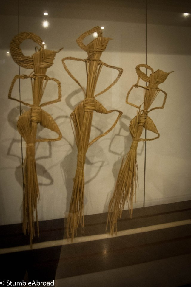 Indonesian Hay Puppets