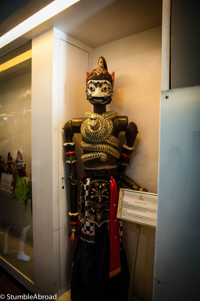 Traditional Indonesian Puppet