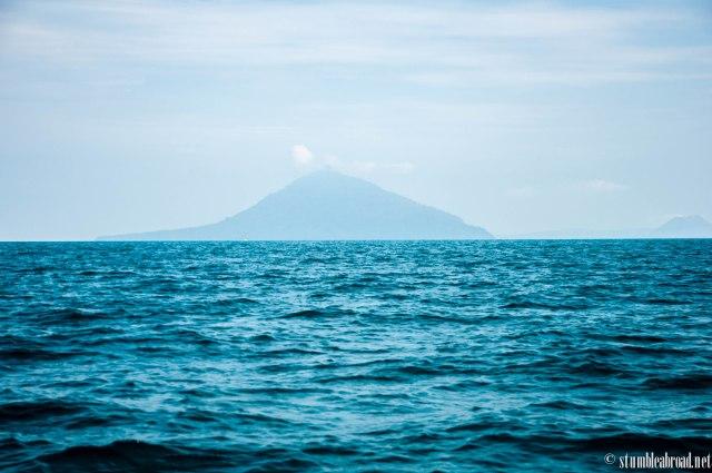 First glimpse at Krakatau