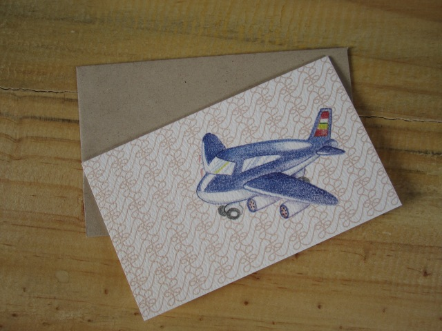 Cool Airplane Greeting Card