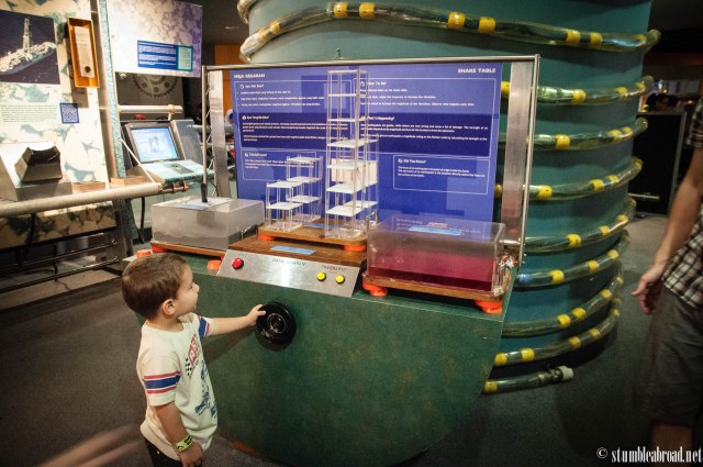Wonderful science exhibits