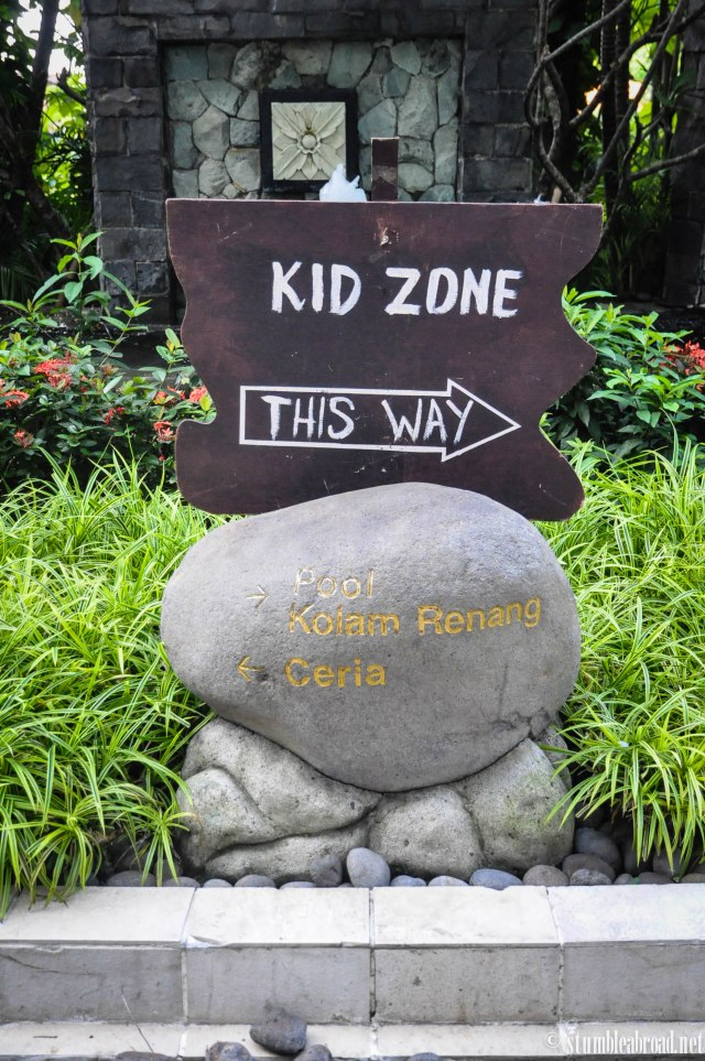 Kid Zone this way!