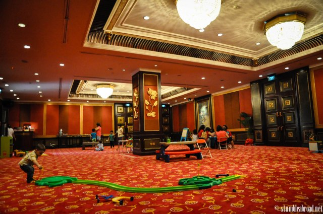 Beautiful function room, fun activities
