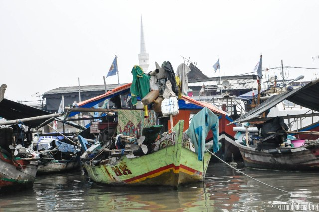 Colorful boats.