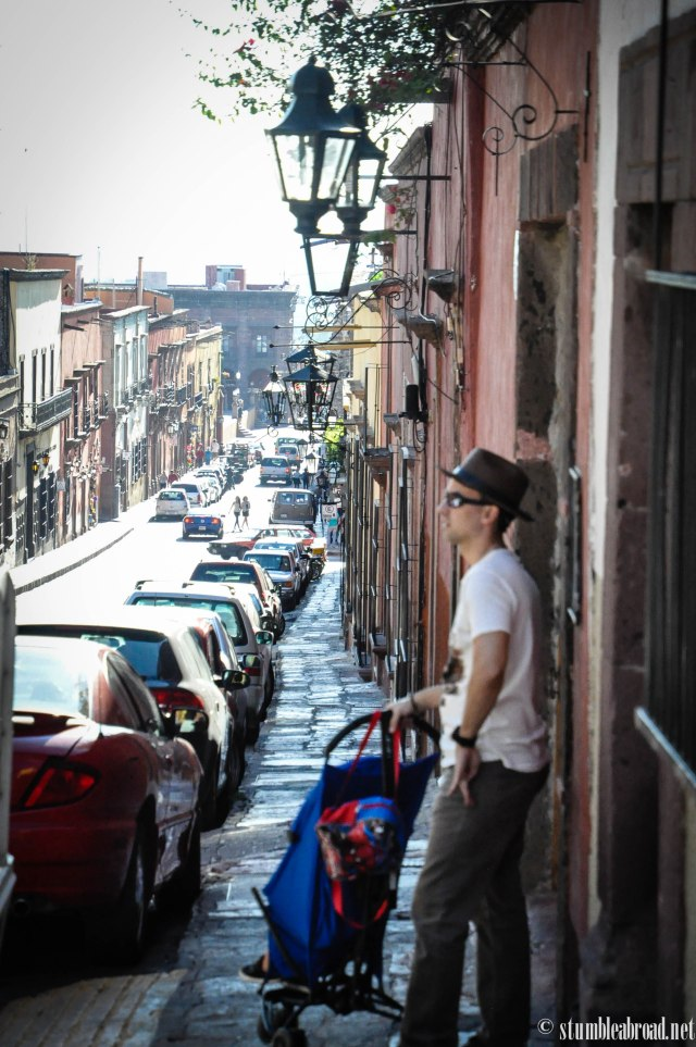 Relaxed on the streets of San Miguel de Allende
