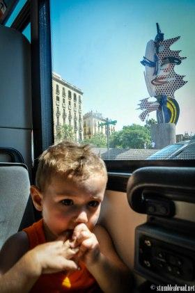Joan Miro thru the window