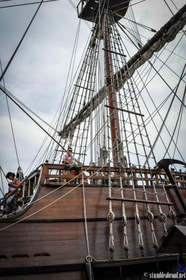 An old ship