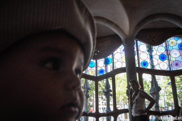 Josh at the Casa Batllo