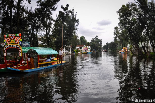 Gorgeous Xochimilco, even when it's cloudy.