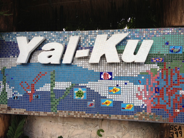We arrived in Yal-Ku about an hour before they closed