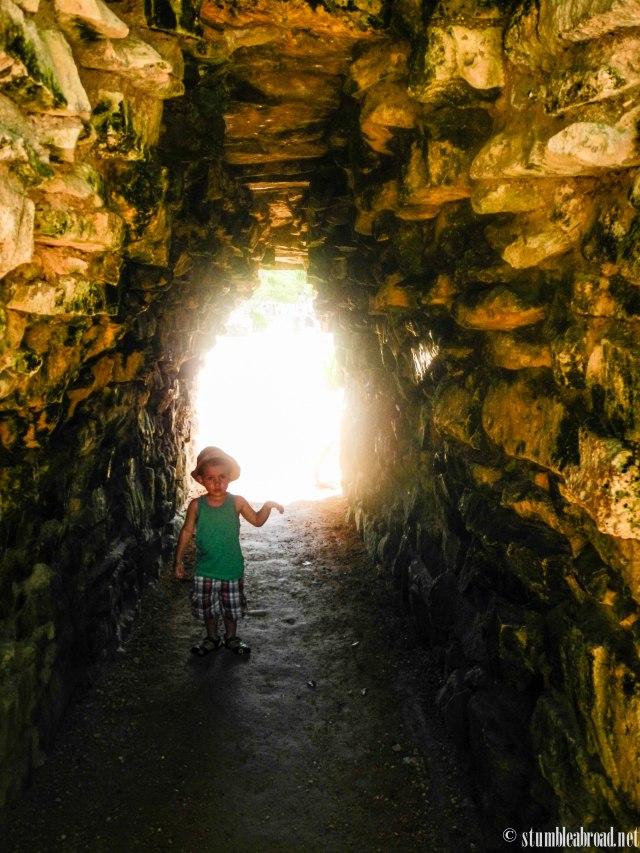 Entering Tulum