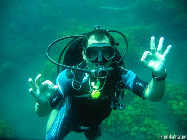 Our amazing divemaster, Ossiel Martinez