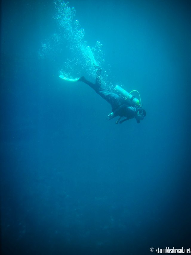 Our amazing dive master, Ossiel