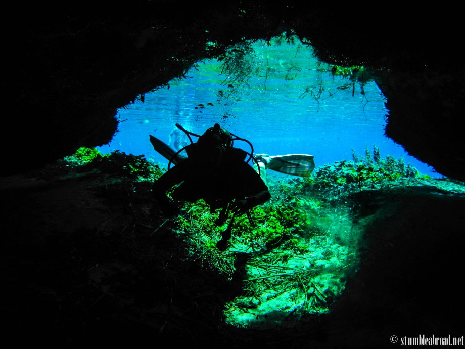 {Mexico} Diving the Media Luna Lagoon in San Luis Potosi