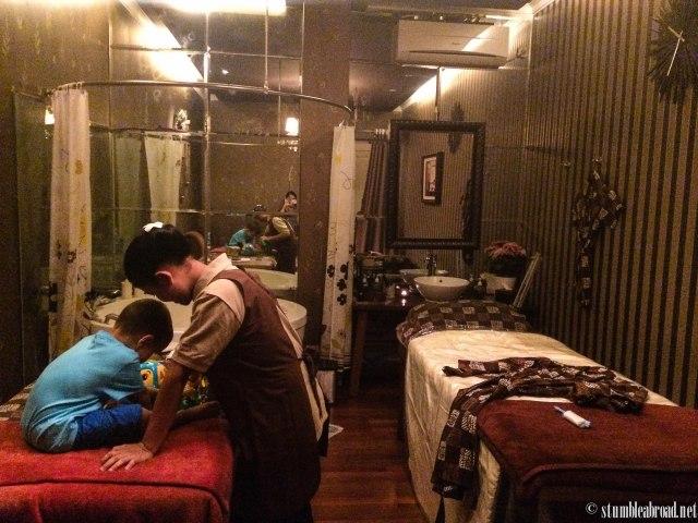 Family spa room.