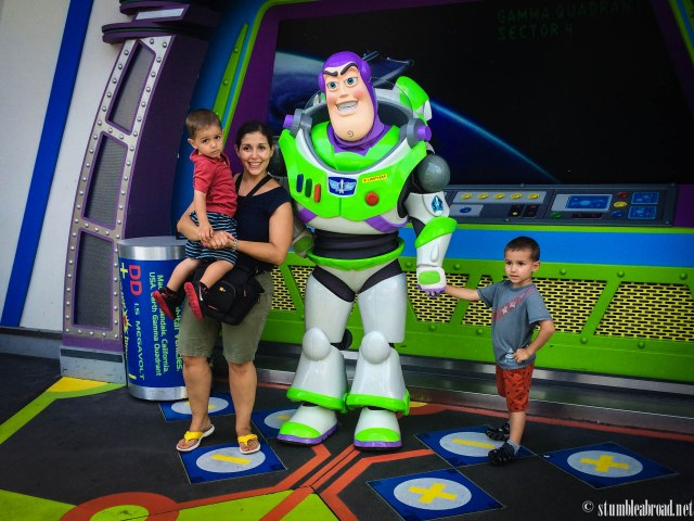 Another pic with Buzz.