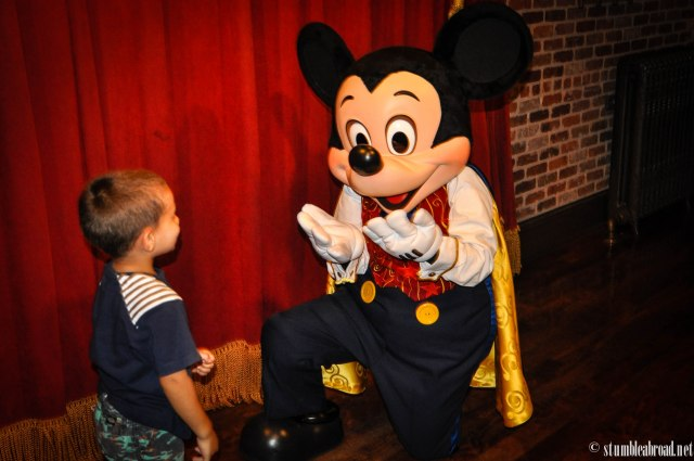 Time to meet Mickey!