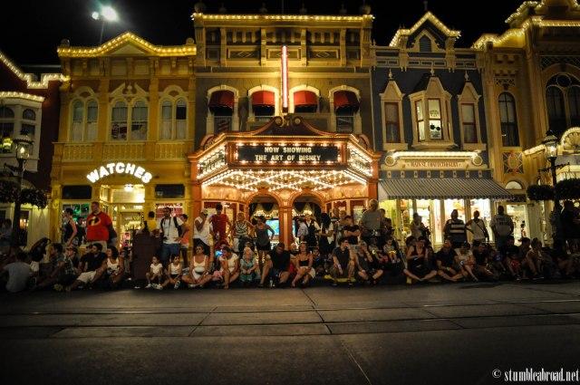 Night time parade.