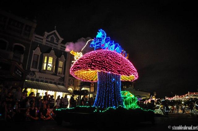 Alice in Wonderland car