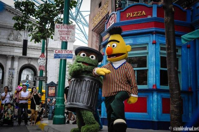 Sesame Street show!