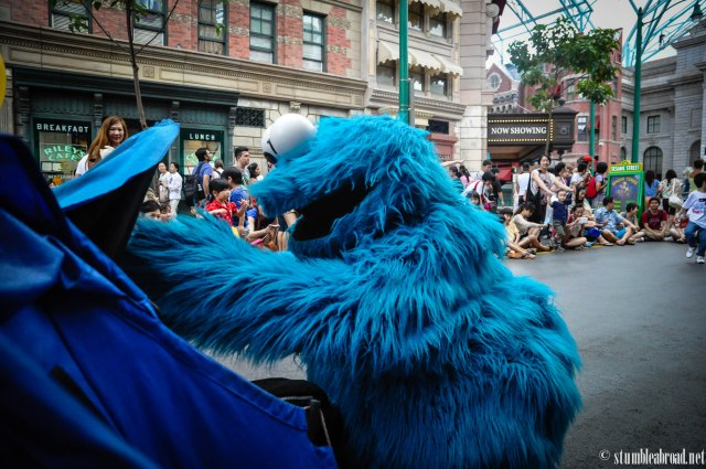 Bye bye Cookie Monster